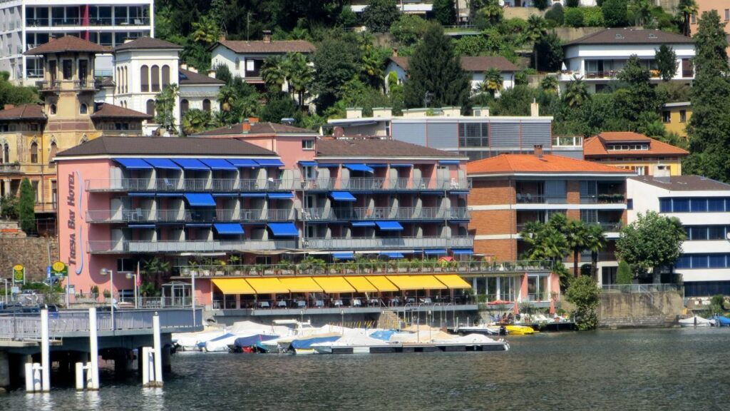 tresa bay hotel ponte tresa access point osatech