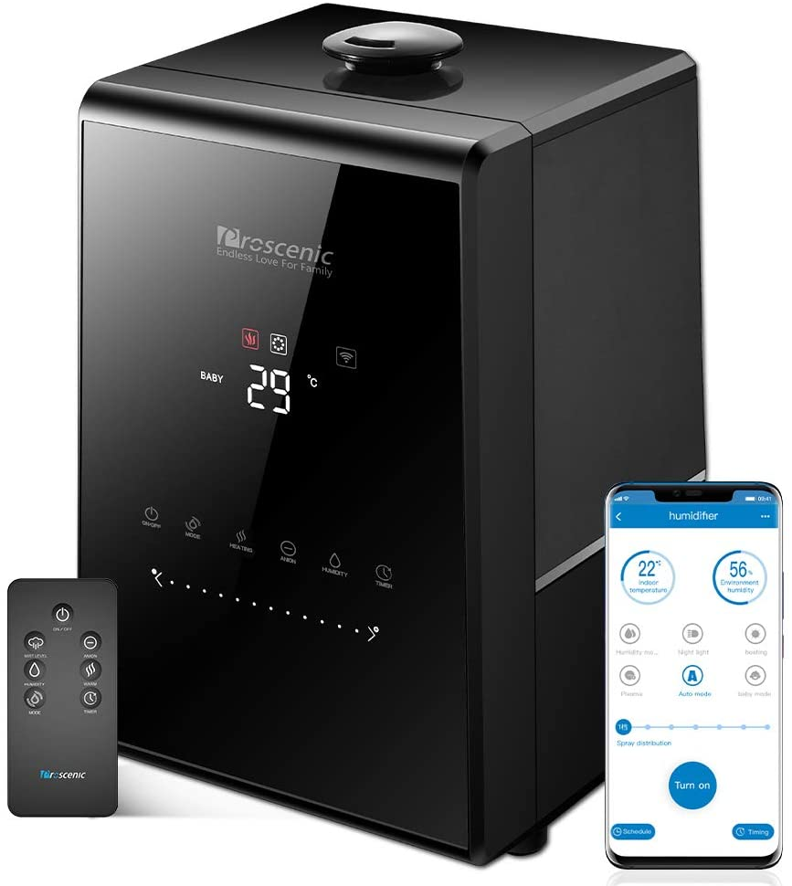 PROSCENIC UMIDIFICATORE CON APP DESIGN CASA