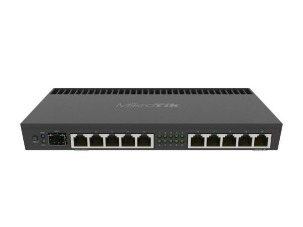 Router VPN MikroTik RB4011iGS + RM, compatibile 10 Gbps